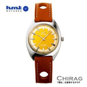 HMT 腕時計 CHIRAG   チラグ  イエロー H.CH.35.YE.L 【正規品】手巻き |yosii-bungu