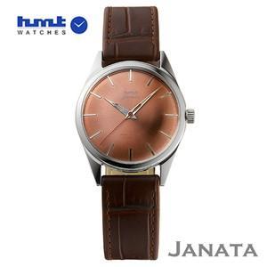 HMT 腕時計 JANATA  ジャナータ コッパH.JA.34.PGS.L  【正規品】 ※ファインボーイズ時計6月号記載モデル|yosii-bungu