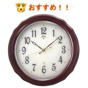 SEIKO EMBLEM HS521B  セイコー エムブレム 電波掛時計  高級掛け時計|yosii-bungu