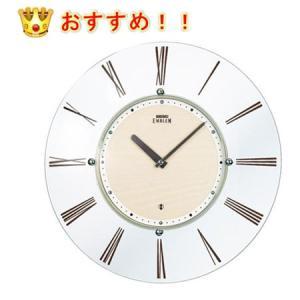 セイコー エムブレム  SEIKO EMBLEM  HS529A  電波 掛け時計 エンブレム|yosii-bungu