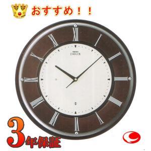 セイコー エムブレム  電波掛時計 HS540B|yosii-bungu