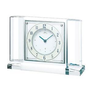 セイコー SEIKO HW564W 大理石枠  置時計  エムブレム |yosii-bungu