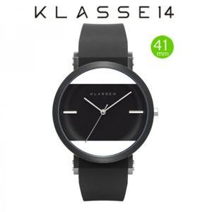 クラス14  腕時計 JT (Jane Tang) KLASSE14 imperfect arch ブラック   IM15BK002M  (一部透過) 41mm|yosii-bungu