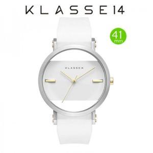 クラス14  腕時計 JT (Jane Tang) KLASSE14 imperfect arch WHITE   IM15SR002M  (一部透過) 41mm|yosii-bungu