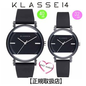 クラス14  腕時計 ペアウォッチ Imperfect Black Arch IP Black Case 40mm 32mm  IM18BK006M IM18BK006W  交換ベルト付き|yosii-bungu