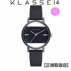 クラス14  腕時計   Imperfect Black Arch IP Black Case 32mm レディ  IM18BK006W  ブラックダイヤル  替えベルト付き|yosii-bungu