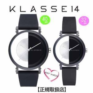 クラス14  腕時計 ペアウォッチ Imperfect Black Arch IP Black Case 40mm 32mm  IM18BK007M IM18BK007W  交換ベルト付き|yosii-bungu