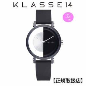 クラス14  腕時計  imperfect arch Black  Perfectly  IM18BK007W  レディ (一部透過) 32mm   【正規輸入品】 交換ベルト付き|yosii-bungu