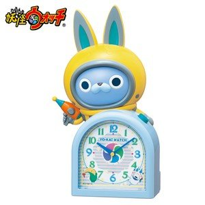 USAピョン おしゃべり妖怪ウォッチ  人気沸騰の妖怪ウォッチの目ざまし時計  JF380A yosii-bungu