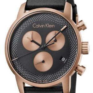 カルバンクライン  シティ 腕時計 ブラック文字板  メンズ 43mmサイズ   K2G17TC1 |yosii-bungu|02
