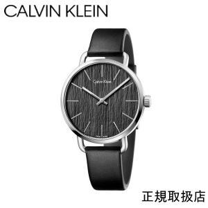 カルバンクライン  イーブン 腕時計 ブラック文字板   メンズ   K7B211C1 42mm|yosii-bungu