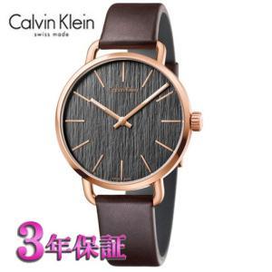 カルバンクライン  イーブン 腕時計  クールグレー文字板  メンズ  K7B216G3  42mm|yosii-bungu