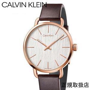 カルバンクライン  イーブン 腕時計  シルバー文字板  メンズ K7B216G6  42mm|yosii-bungu