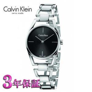カルバン・クライン ウォッチ 腕時計  ディンティ  K7L23141  レディ  ブラック文字板|yosii-bungu