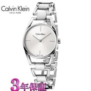 カルバン・クライン ウォッチ腕時計 ディンティ  K7L23146  レディ  シルバー文字板|yosii-bungu