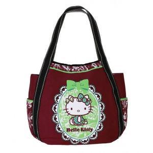 AMONNLISA(アモンリザ) × Hello Kitty(ハローキティ) トートバッグ リボンチョコミン  KH65K-002-0041 MMサイズ|yosii-bungu