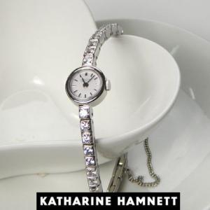 KATHARINE HAMNETT キャサリン ハムネット ウォッチ  RECTANGLE/KH7013-B04D  ホワイトモデル 正規品 yosii-bungu