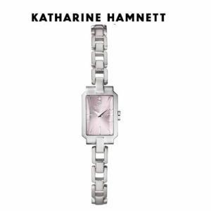 KATHARINE HAMNETT(キャサリン ハムネット) DECO3 ウォッチ  KH80H2-B48 ピンク文字板 正規品 yosii-bungu