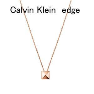 Calvin Klein カルバンクライン アクセサリー エッジ ネックレス レディー KJ3CPP100100 50cm Calvin Klein edge  ネックレス yosii-bungu