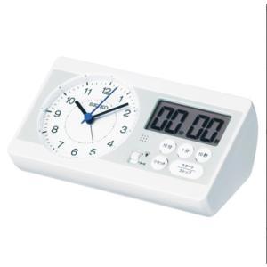 セイコースタディタイム  KR893W 「百ます計算」の山英男氏監修  学習用時計セイコーSTUDY TIME|yosii-bungu
