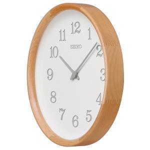 (今ならポイント最大37倍!)SEIKO Nukumori COLLECTION  KX239H Simpe & Timelss  木枠(ビーチ・天然色木地塗装)|yosii-bungu|02