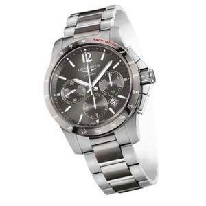 ロンジン 腕時計 LONGINES コンクエスト セラミック ステンレス&セラミック ブレス メンズサイズ L2.744.4.06.7 正規販売店 yosii-bungu