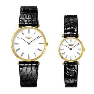 ロンジン 腕時計 ラ グラン クラシック ドゥ ロンジン  L4.755.2.11.2  L4.209.2.11.2 (ペアウオッチ) yosii-bungu