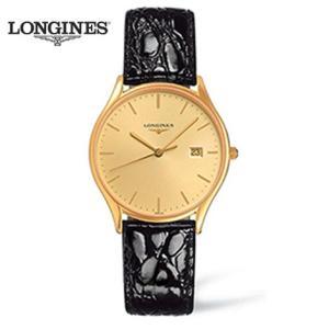 ロンジン 腕時計 ロンジン リール ロンジン腕時計 L4.759.2.32.2     L47592322  (メンズ) ゴールドPVD ロンジン リール yosii-bungu