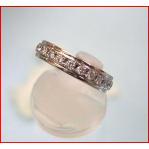 高級ダイヤモンド ラザールダイヤモンド フルエタニティー リング 0.7ct  LD216PR7|yosii-bungu