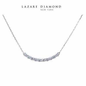 ラザールダイヤモンド ダイヤモンドネックレス 0.20ct  Pt950  LD845PNC|yosii-bungu