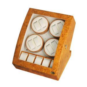 LUHW 木製 LEDライト付き8連 ワインディングマシーン LU30008RW yosii-bungu