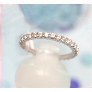 ダイヤモンド フルエタニティリング[指輪] サイズ#8〜#13未満|yosii-bungu