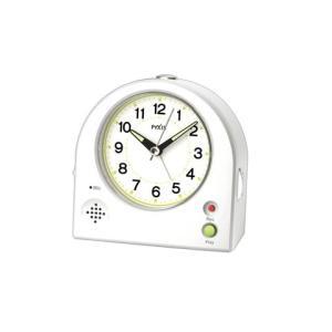 セイコー目覚まし時計   NR433W   録音・再生可能な目ざまし時計 新登場!|yosii-bungu