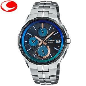 カシオ メンズ 腕時計 CASIO OCEANUS マンタ  OCW-S5000C-1AJF タフソーラー電波ウォッチ|yosii-bungu