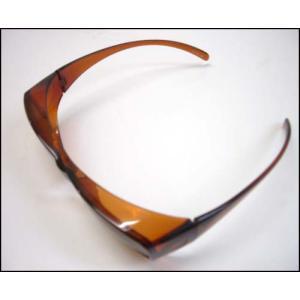 (今ならポイント最大37倍!)花粉から目を守る画期的なサングラス UVカット付 アイサポーター ブラウン 花粉症予防 グラス yosii-bungu 02