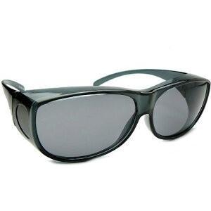 花粉から目を守る画期的なサングラス UVカット付 アイサポーター (スモークグレイ) 花粉症予防 グラス 3月入荷|yosii-bungu