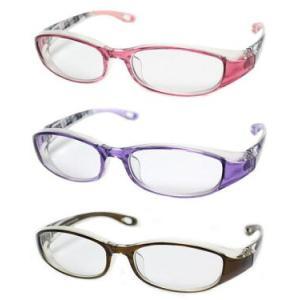 (今ならポイント最大32倍!)【花粉症対策メガネ】高性能タイプ OGT-740 UVカット防曇レンズ 度付き対応 ケース付|yosii-bungu