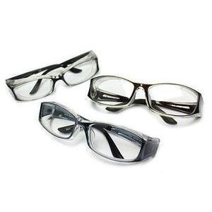 (今ならポイント最大32倍!)【花粉症対策メガネ】高性能タイプ OGT-830 UVカット防曇レンズ 耳フィッティング可 度付き対応 ケース付  Lサイズ |yosii-bungu