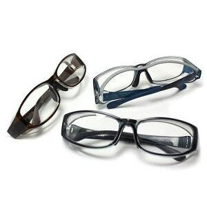 【花粉症対策メガネ】高性能タイプ OGT-910 UVカット防曇レンズ 鼻耳フィッティング可 安全フード付 度付き対応 ケース付|yosii-bungu