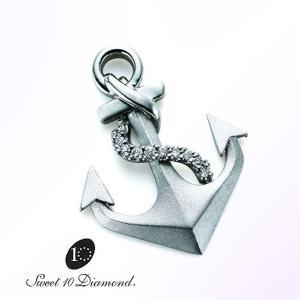 スイート10 ダイヤモンド Sweet 10 Diamond SV925 ラペルピン|yosii-bungu
