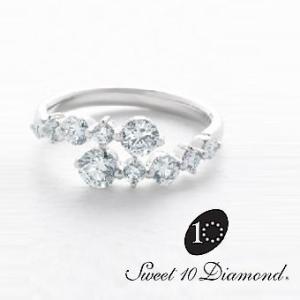 スイート10 ダイヤモンド Sweet 10 Diamond Pt900 ダイヤモンドリング 1.00ct|yosii-bungu