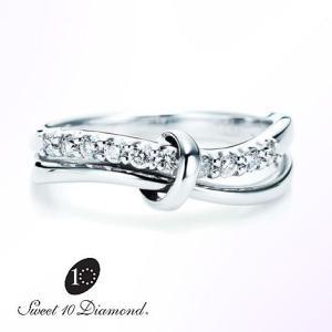 スイート10 ダイヤモンド Sweet 10 Diamond Pt900 ダイヤモンドリング 0.20ct|yosii-bungu