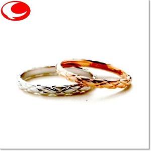 マリ・エ・マリ (左ダイヤ無し) 結婚リング [マリッジ]  Marie et Marie QCPMM-11|yosii-bungu