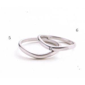 マリ・エ・マリ  ペア2本分 結婚リング [マリッジ]  Marie et Marie No5-6  QCPMM-104   QCPMM-4|yosii-bungu