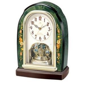 RHYTHM ハイグレード リズム RHG-S41  電波置時計  (イタリア製象嵌使用) 4RY678HG05|yosii-bungu