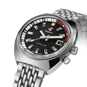 ラドー 腕時計 キャプテンクック MKII  リミテッド 1962  220m防水   ステンレススチール 37mm  R33522153 |yosii-bungu|02