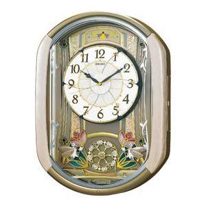 セイコー SEIKO カラクリ 電波掛け時計 RE567G  yosii-bungu