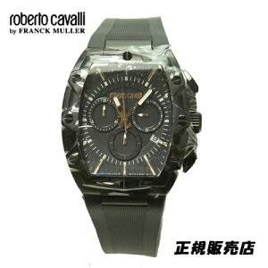 ロベルトカヴァリ バイ フランクミュラー クロノグラフ 腕時計 RV1G082P0021|yosii-bungu