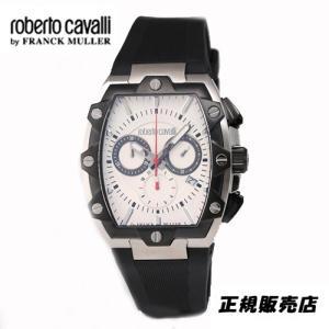 ロベルトカヴァリ バイ フランクミュラー クロノグラフ 腕時計 RV1G082P0041|yosii-bungu