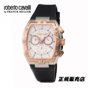 ロベルトカヴァリ バイ フランクミュラー クロノグラフ 腕時計 RV1G082P005|yosii-bungu